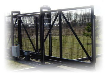 Commercial Security Gates And Gate Openers Call 281 395